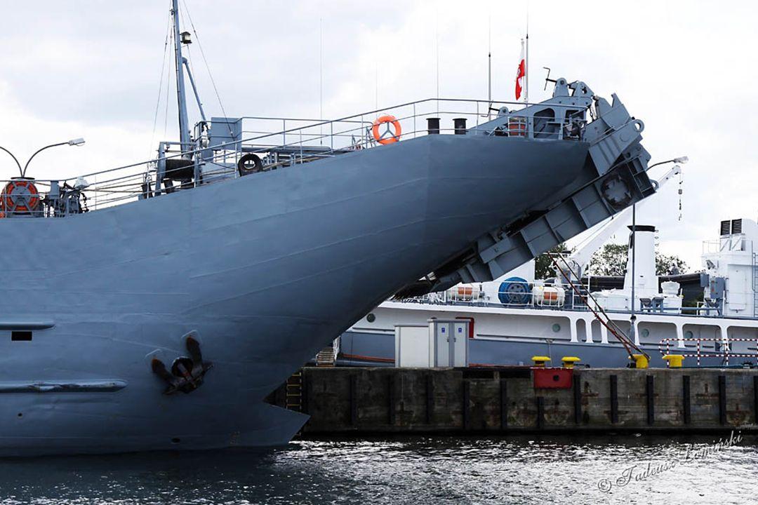 F357 Fregata HDMS THETIS - Dania MSD5, MSF2, MSF4 Specjalistyczne bezzałogowe jednostki przeciwminowe DRONY - Dania