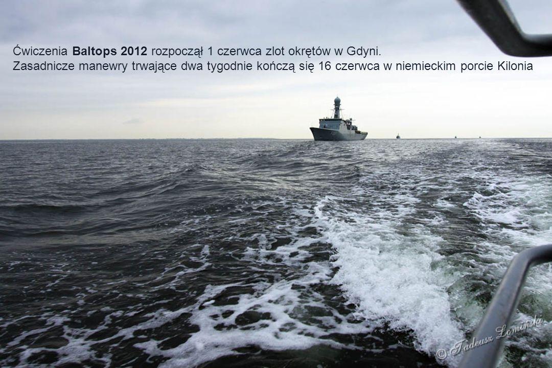 M313 Niszczyciel min ENS Admirał Covan - Estonia A900 Okręt wsparcia HNLMS MERCUR - Holandia M863 Niszczyciel min HNLMS VLAARDINGEN - Holandia P11 Okręt patrolowy ŻEMAITIS - Litwa