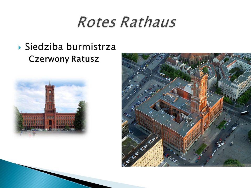  Siedziba burmistrza Czerwony Ratusz