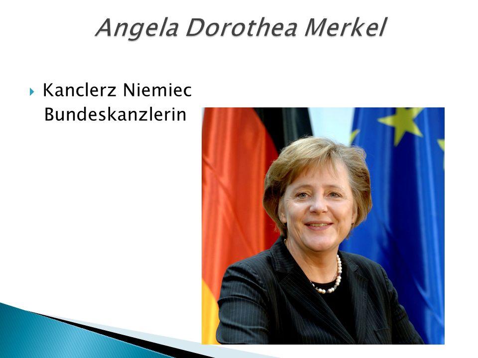  Kanclerz Niemiec Bundeskanzlerin