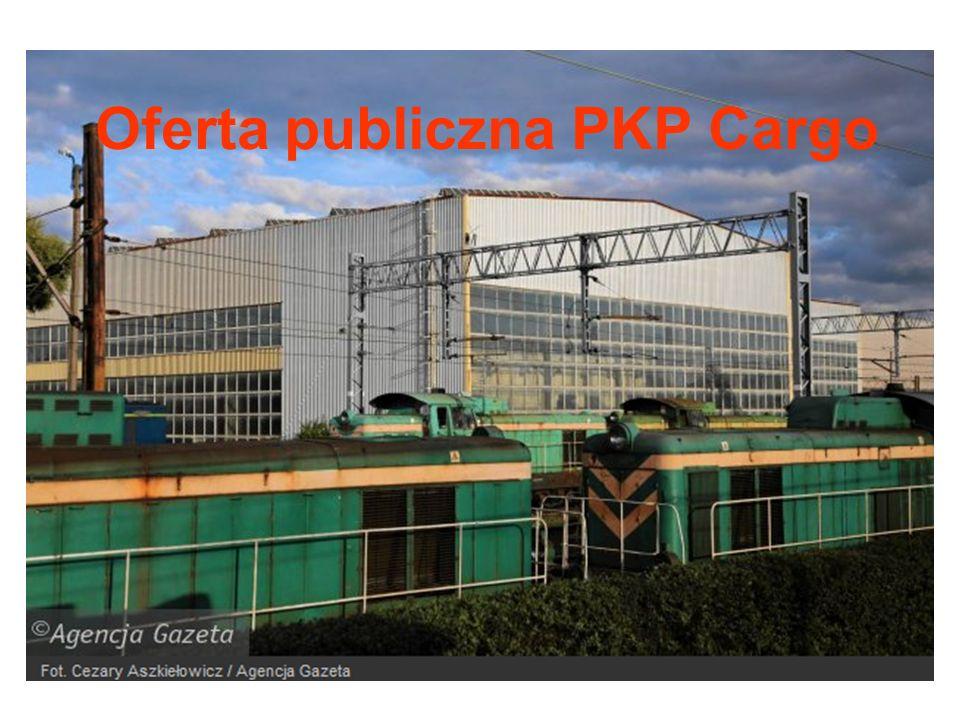Oferta publiczna PKP Cargo