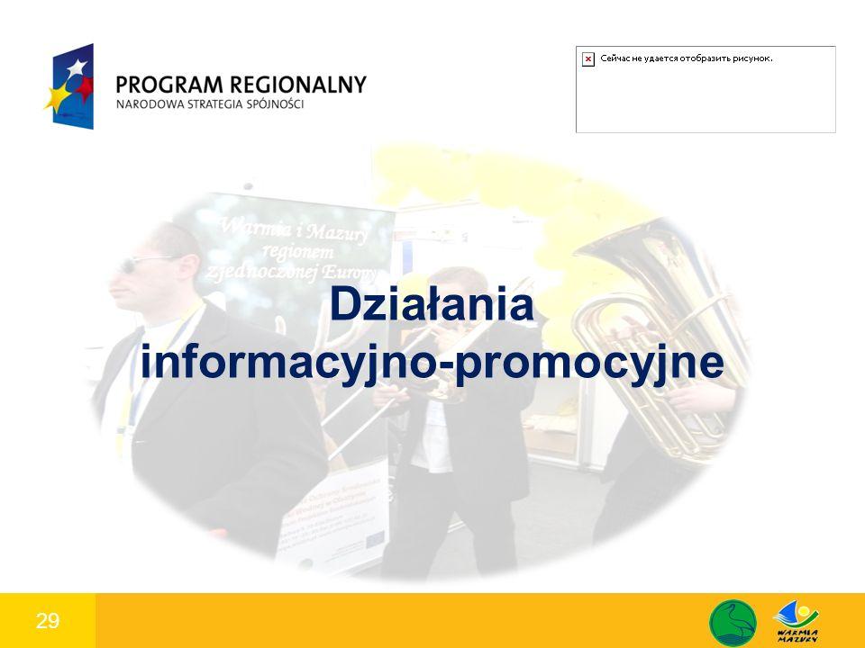 29 1 Działania informacyjno-promocyjne