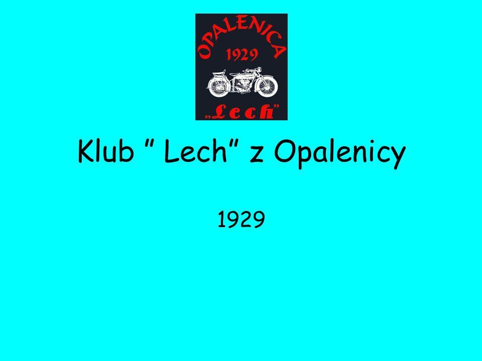 Klub Lech z Opalenicy 1929