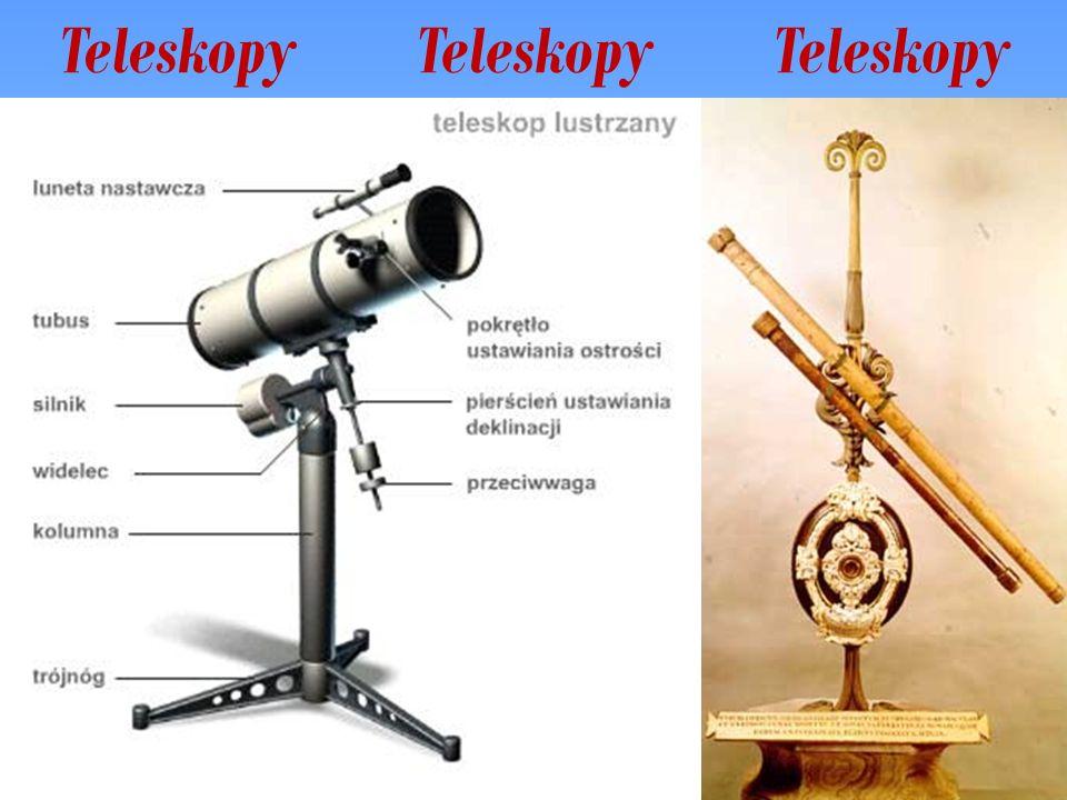 teleskop Newtona najprostszy w konstrukcji i najpopularniejszy wśród amatorów.