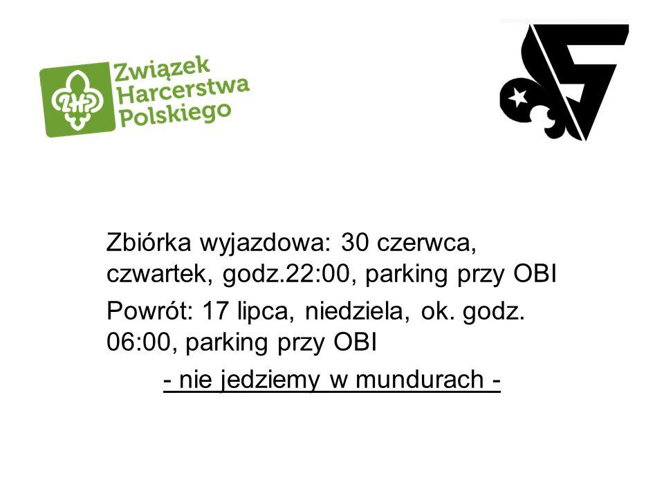 Kadra - wolontariusze: Komendantka obozu – hm.