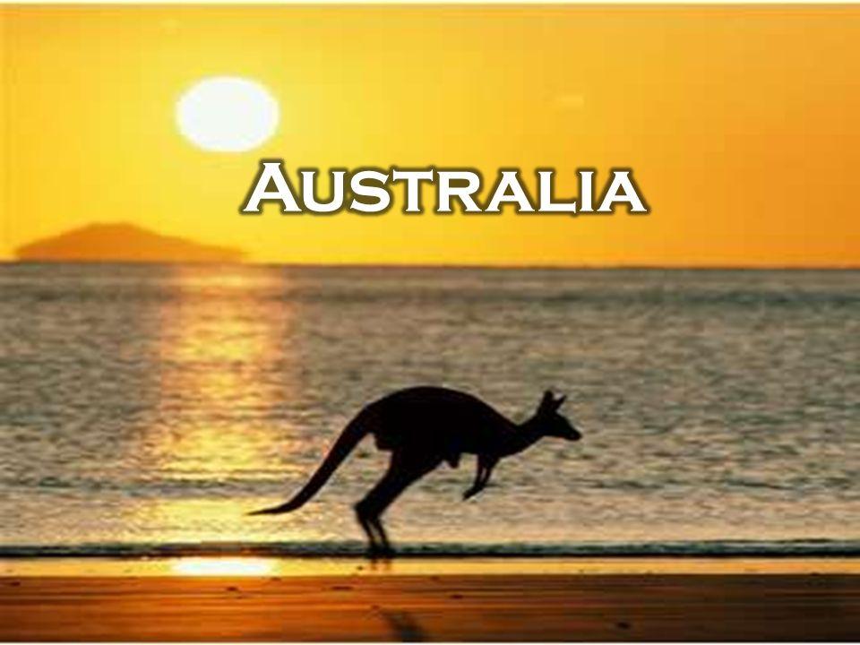 Australia jest najmniejszym z kontynentów, położonym w całości na półkuli południowej.