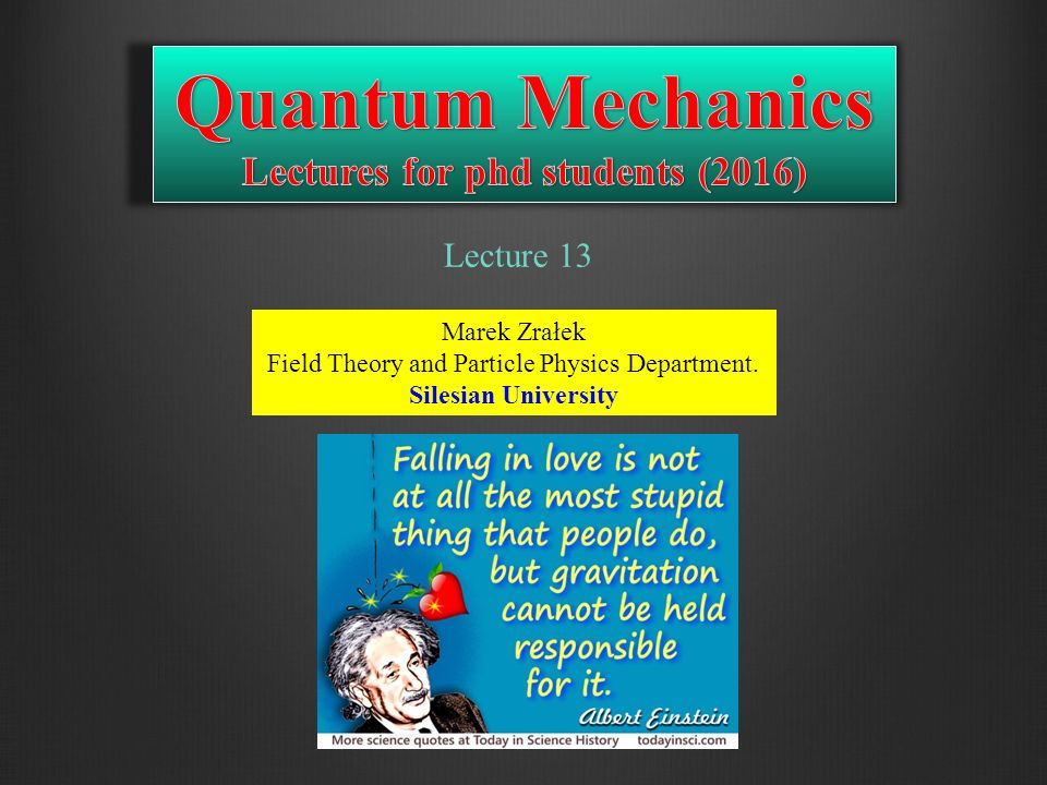 Podejście pragmatyczne Takie podejście prezentuje zdecydowana większość czynnych fizyków.