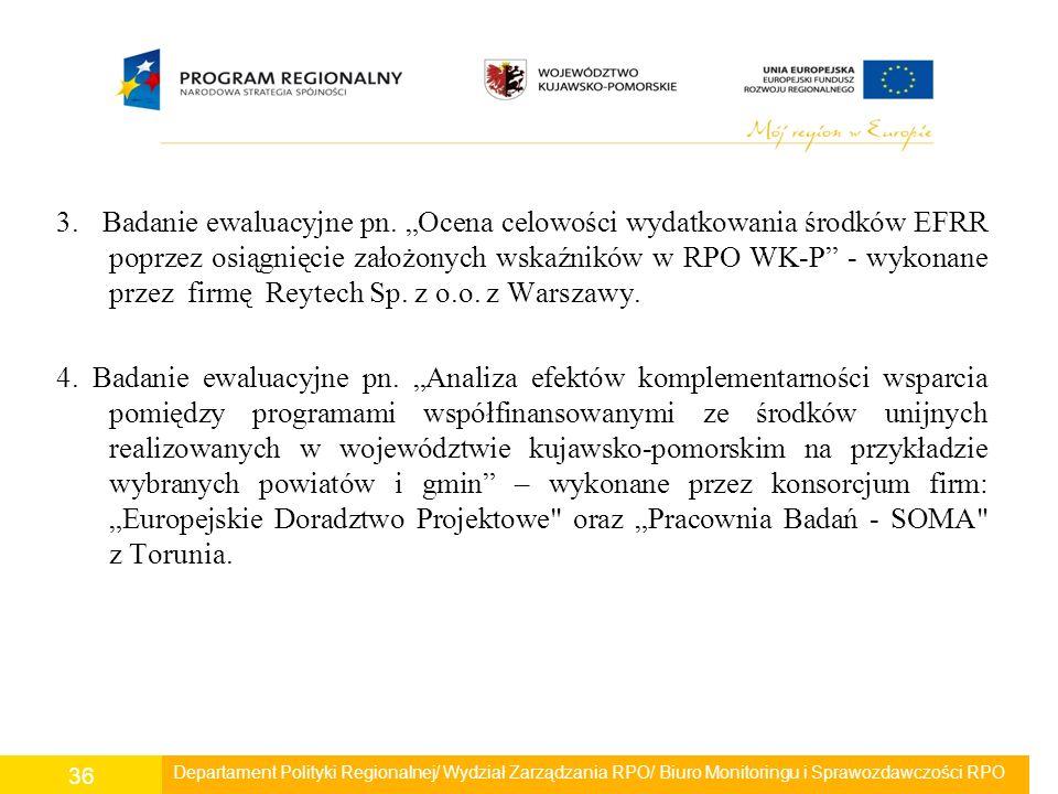 3. Badanie ewaluacyjne pn.