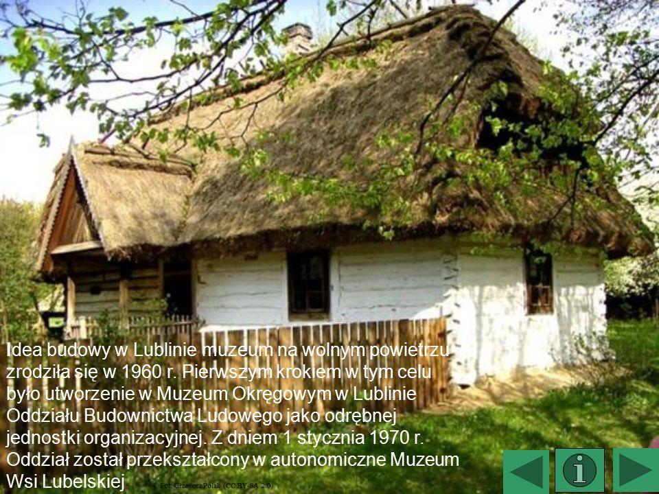 Idea budowy w Lublinie muzeum na wolnym powietrzu zrodziła się w 1960 r. Pierwszym krokiem w tym celu było utworzenie w Muzeum Okręgowym w Lublinie Od