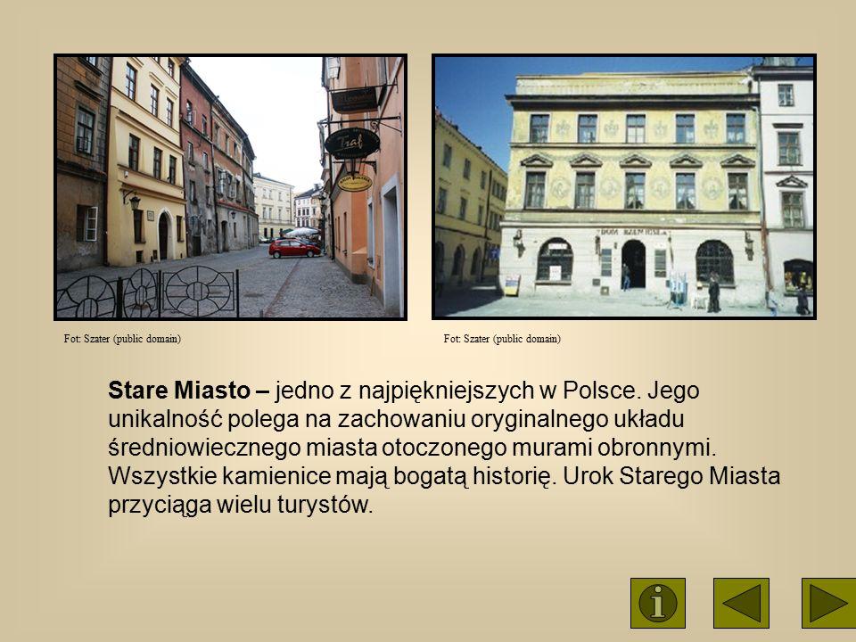 Stare Miasto – jedno z najpiękniejszych w Polsce. Jego unikalność polega na zachowaniu oryginalnego układu średniowiecznego miasta otoczonego murami o