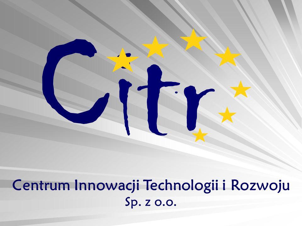 Citr Centrum Innowacji Technologii i Rozwoju Sp. z o.o.