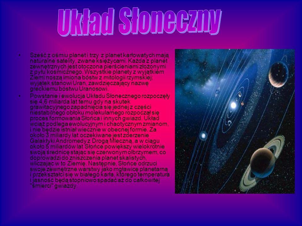 Wiele takich ciał niebieskich odkryto także poza naszym układem planetarnym.