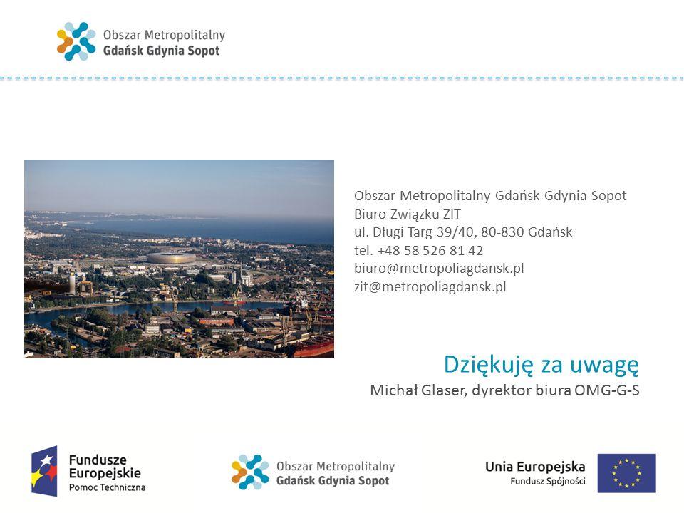 Obszar Metropolitalny Gdańsk-Gdynia-Sopot Biuro Związku ZIT ul.