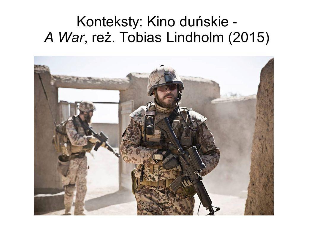 """Zadanie domowe #2: Polski podtytuł (""""Wojna jest w nas ) a ostatnia sekwencja montażowa filmu."""