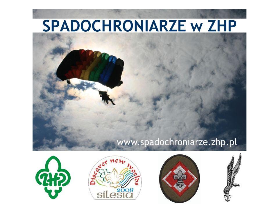 SPADOCHRONIARZE w ZHP www.spadochroniarze.zhp.pl