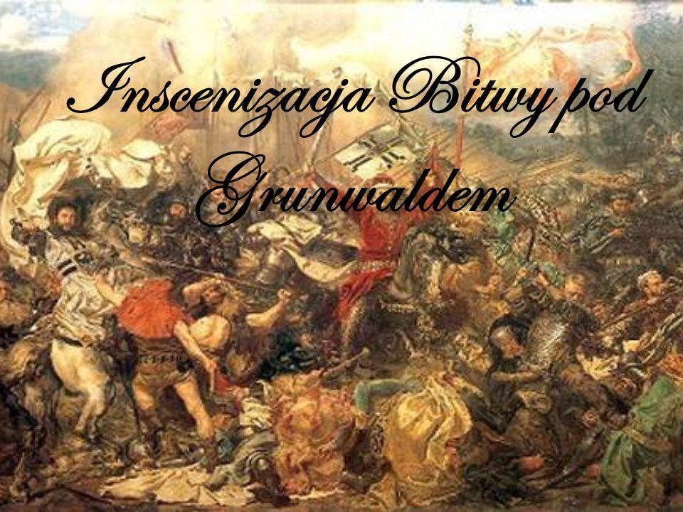 Bitwa Pod Grunwaldem Witam na prezentacji poświęconej inscenizacji odtwarzającej największą bitwę średniowiecznej Europy.