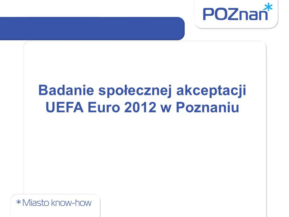 Badanie społecznej akceptacji UEFA Euro 2012 w Poznaniu
