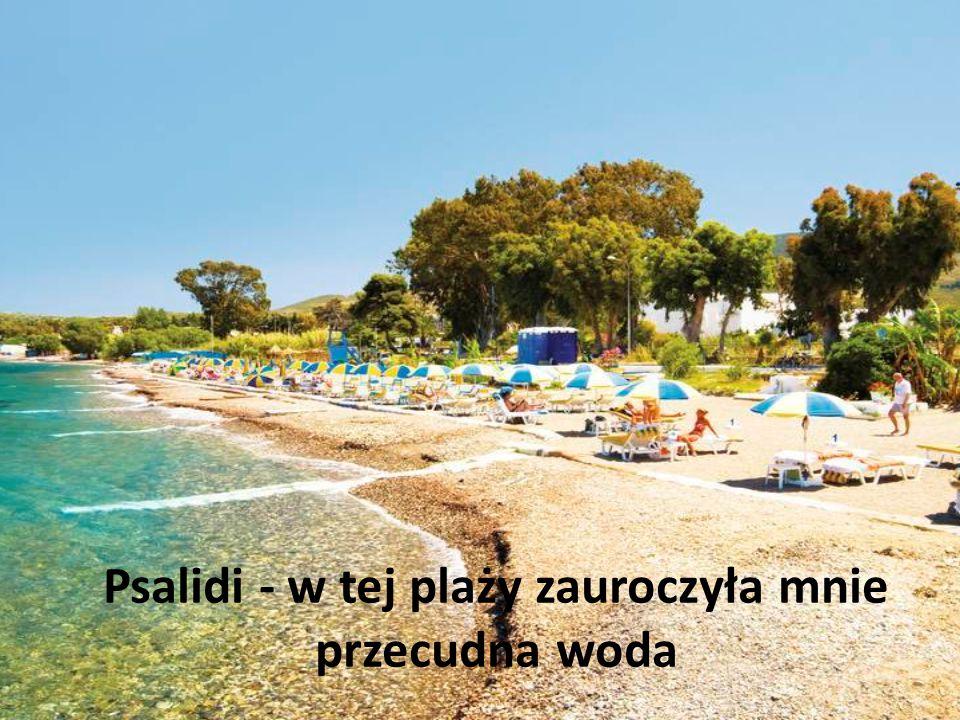 Psalidi - w tej plaży zauroczyła mnie przecudna woda