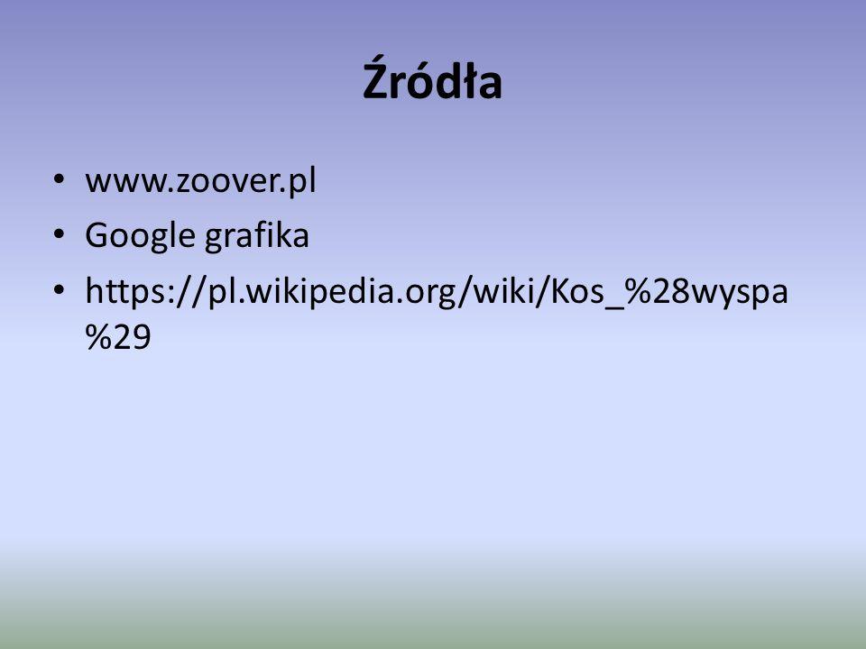 Źródła www.zoover.pl Google grafika https://pl.wikipedia.org/wiki/Kos_%28wyspa %29