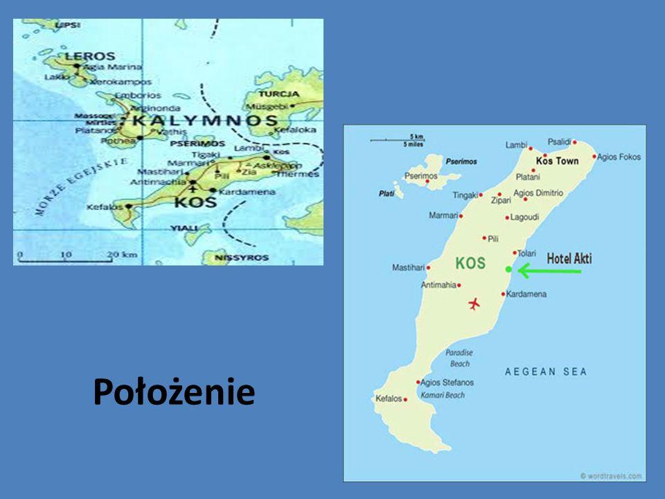 Wyspa Kastri W jej najwyższym punkcie znajdują się ruiny twierdzy, która niegdyś chroniła Kos przed atakami piratów.