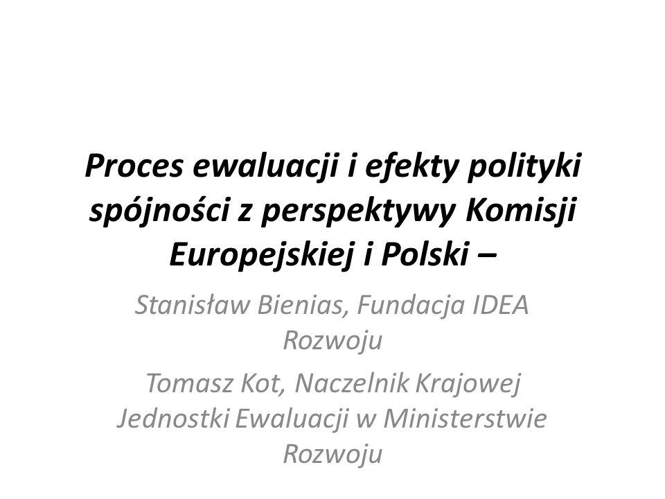 """Post scriptum do prezentacji Przyszłość i rola ewaluacji w nowym okresie programowania na konferencji """"toruńskiej w 2013 r."""