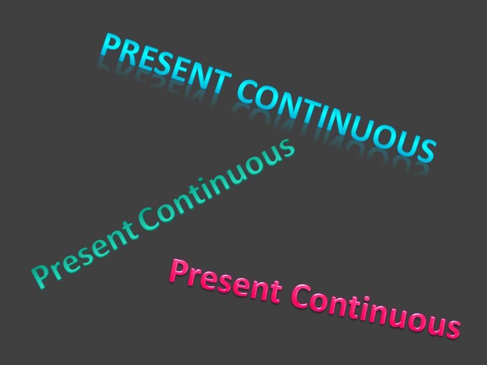 podmiot + to be + czasownik + ing podmiot + to be + not + czasownik + ing to be + podmiot + czasownik + ing Czasownik + ingwear wearing Czasownik zakończony na – e, e + ingwrite writing Czasownik jednosylabowy zakończony : spółgłoska, samogłoska, spółgłoska, podwajamy spółgłoskę + ing sit sitting.