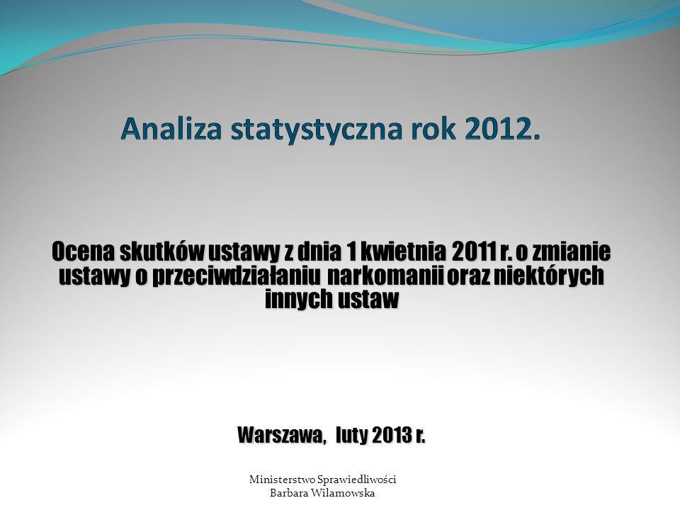 Ocena skutków ustawy z dnia 1 kwietnia 2011 r.