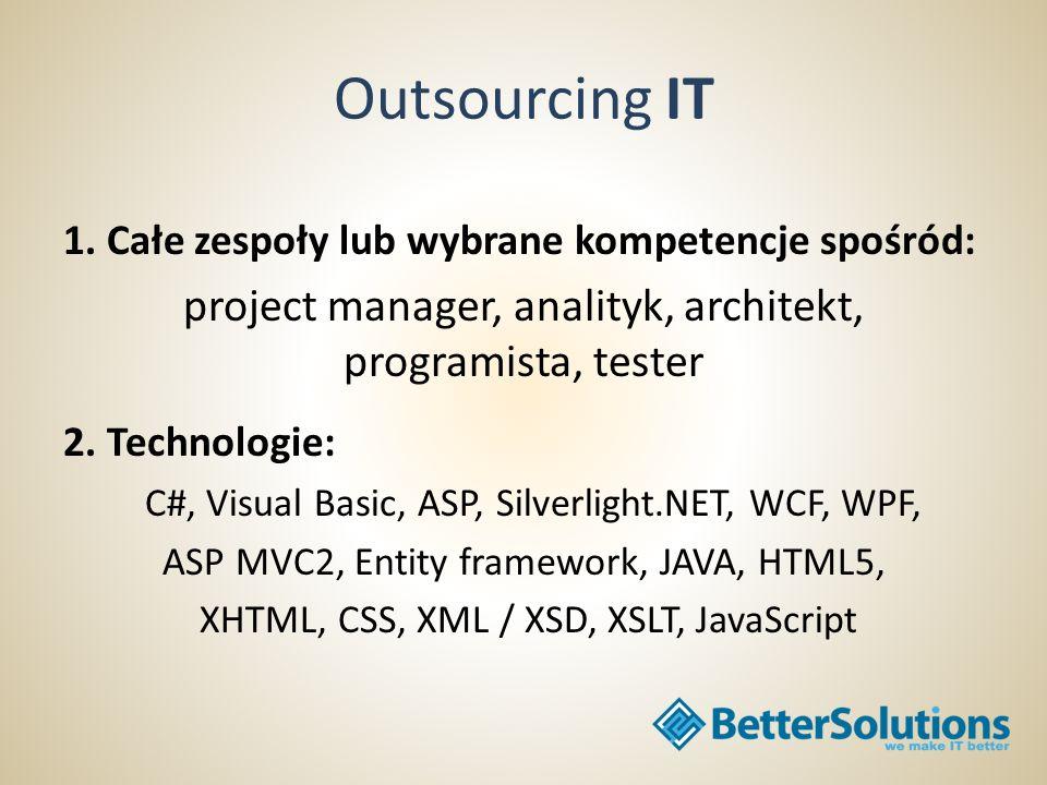 Outsourcing IT BS Spółka z ograniczoną odpowiedzialnością Sp.k.