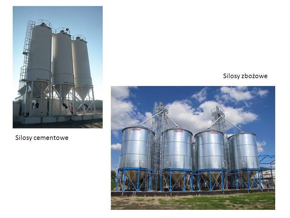 Silosy cementowe Silosy zbożowe