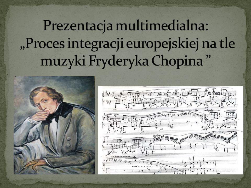 26 listopada 1991 roku Polska staje się członkiem Rady Europy. Fryderyk Chopin
