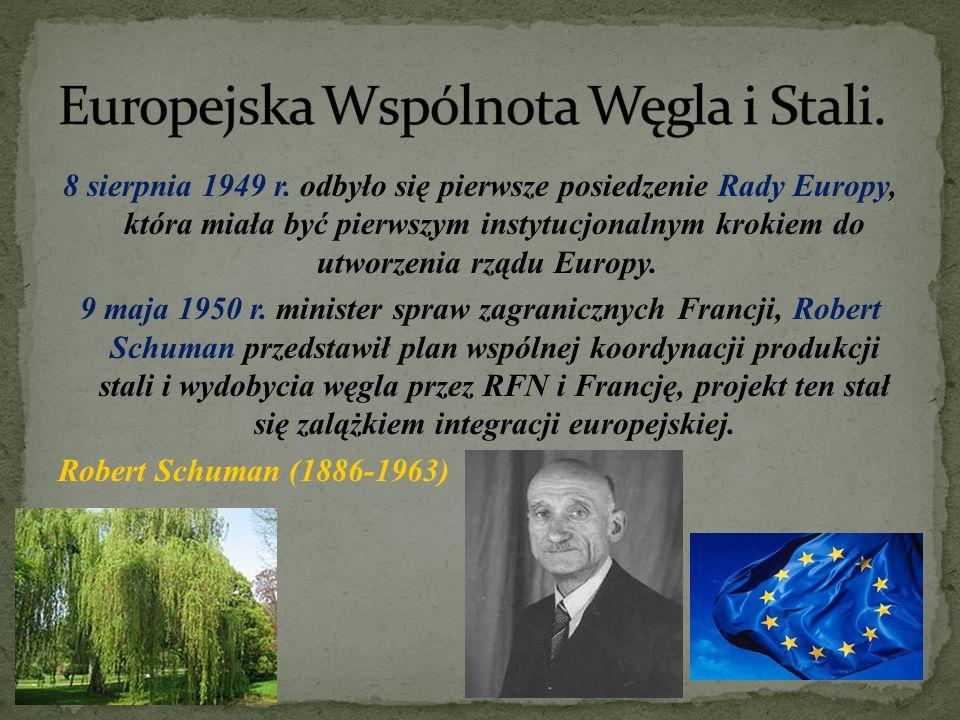 Rada Europejska, utworzona w 1974 r., w jej skład wchodzą szefowie rządów państw członkowskich i ich prezydenci, wyznacza główne kierunki polityki UE.