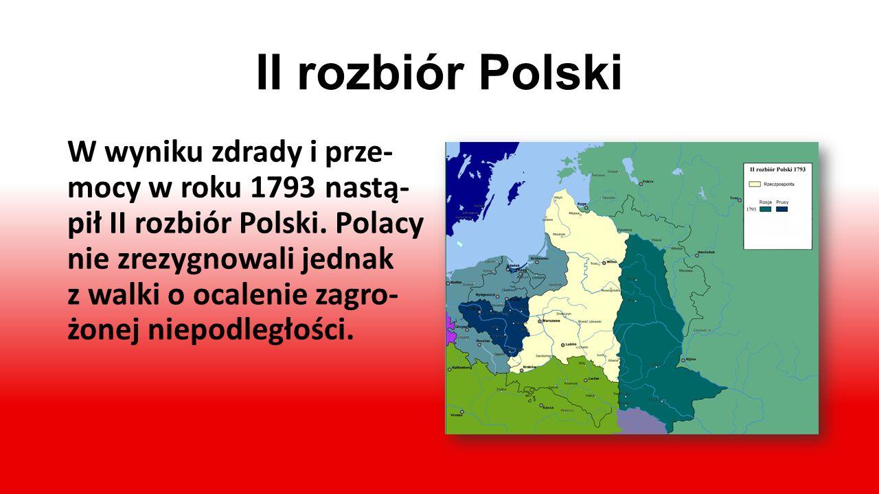 Konstytucja 3 maja 1791 r. Dziewiętnaście lat po I rozbiorze Polski w 1791 roku, uchwalono Konstytucję 3 maja, która stwa- rzała podstawy do wzmocnien