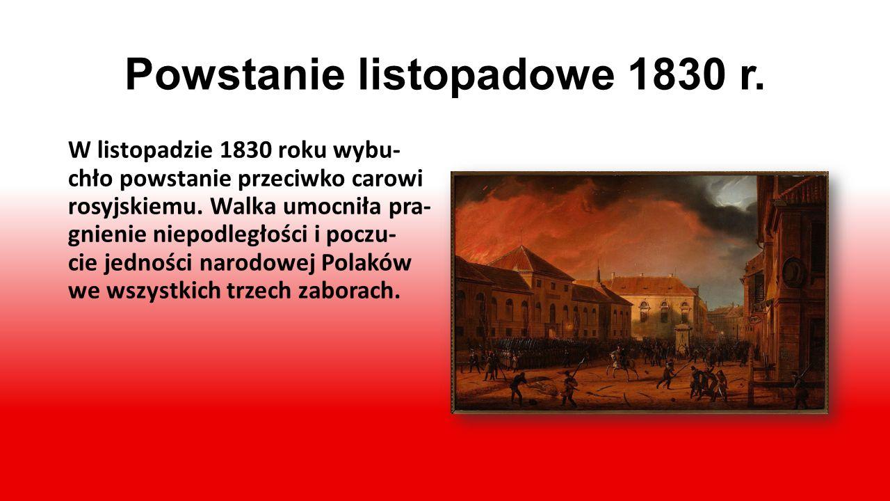 Legiony Polskie we Włoszech Walkę o wolność zapoczątko- wały Legiony Polskie we Wło- szech, które dowodziły światu, że Polacy nie pogodzili się z utra