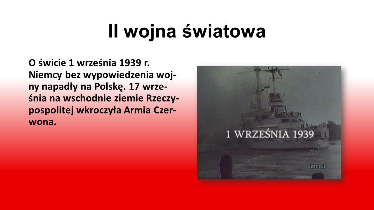 Powstanie II Rzeczypospolitej. Wolność po 123 latach… 11 listopada 1918 roku Polska odzyskała nie- podległość. Na czele państwa jako naczelnik stanął