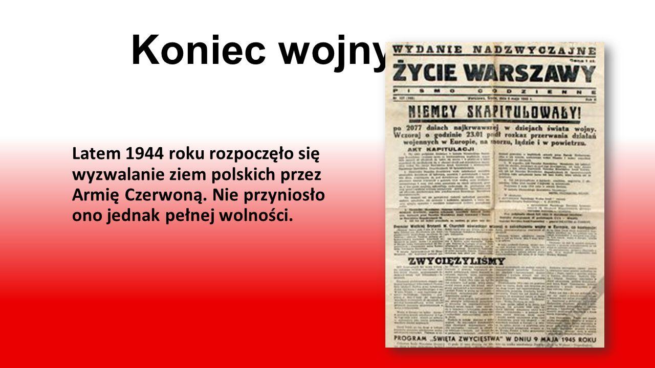 5 lat okupacji Po klęsce wrześniowej rozpo- częła się, trwająca 5 lat, okupa- cja Polski. Trwały aresztowania Polaków, egzekucje i wywoże- nia na tere
