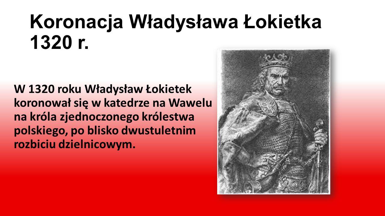 Pierwszy Król Polski – Bolesław Chrobry Bolesław Chrobry, w 1025 roku koronował się na króla Polski. Granice państwa za jego pano- wania zbliżone były
