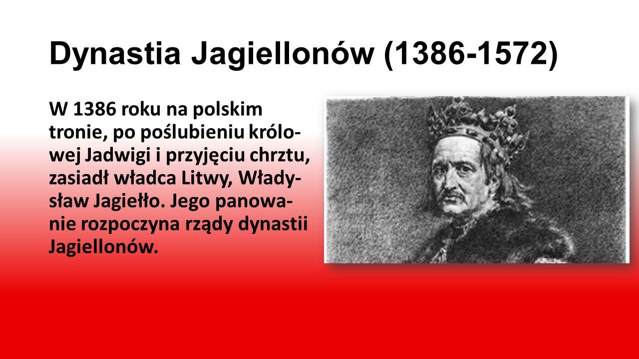 Kazimierz Wielki 1333-1370. Koniec dynastii Piastów Za panowania Kazimierza Wielkiego Polska stała się znów państwem silnym i bo- gatym. Był on ostatn