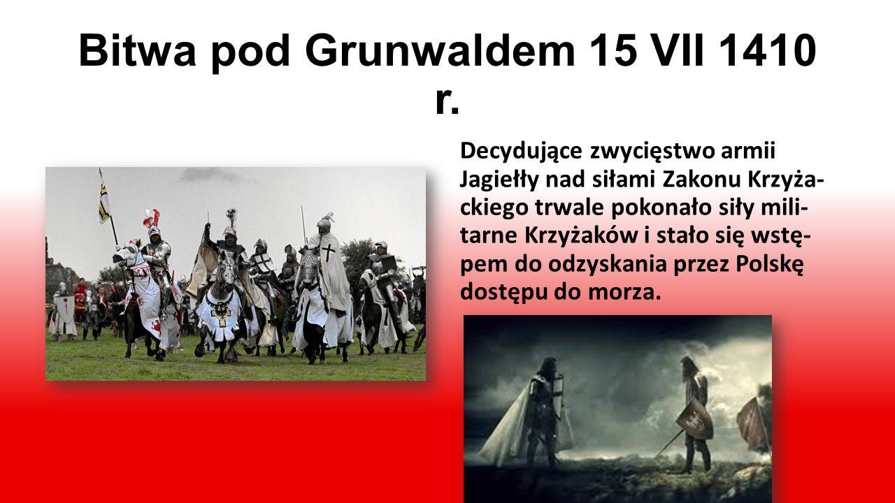 Polska Jagiellonów Za panowania władców z tej dynastii (1386-1572) państwo polskie było jednym z największych i najpotę- żniejszych w Europie, sięgało