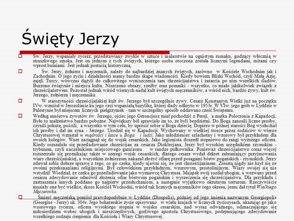 Święty Jerzy  Św.