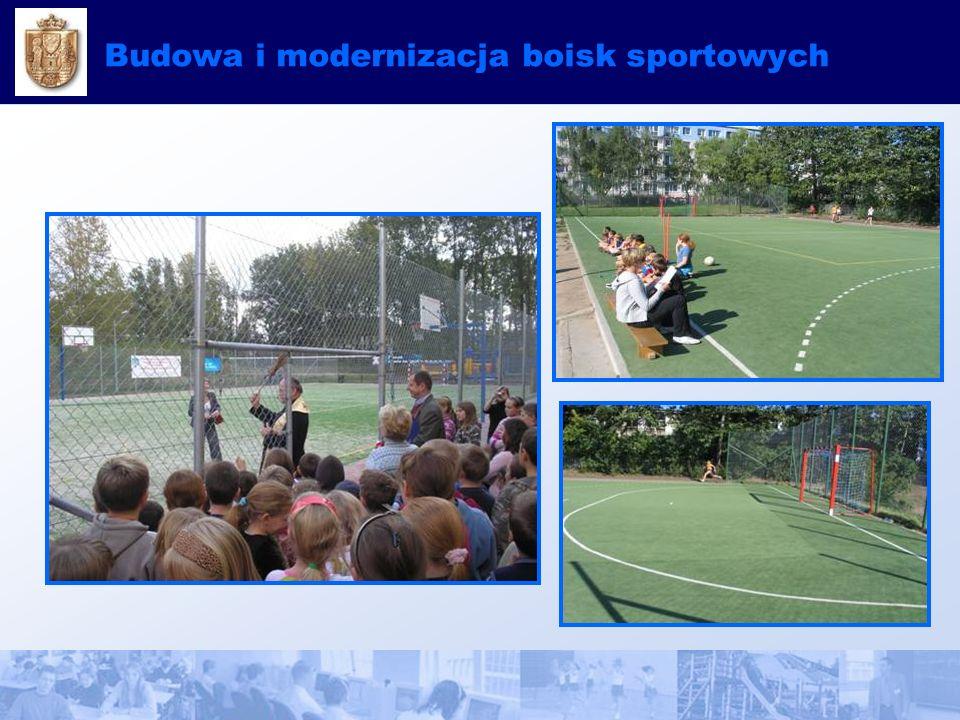 Budowa i modernizacja boisk sportowych