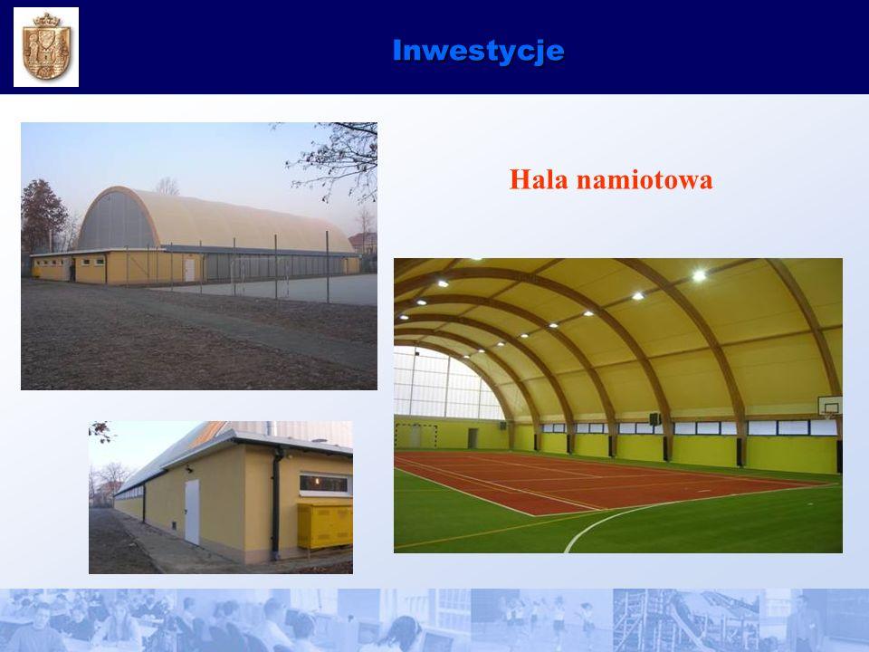Inwestycje Hala namiotowa