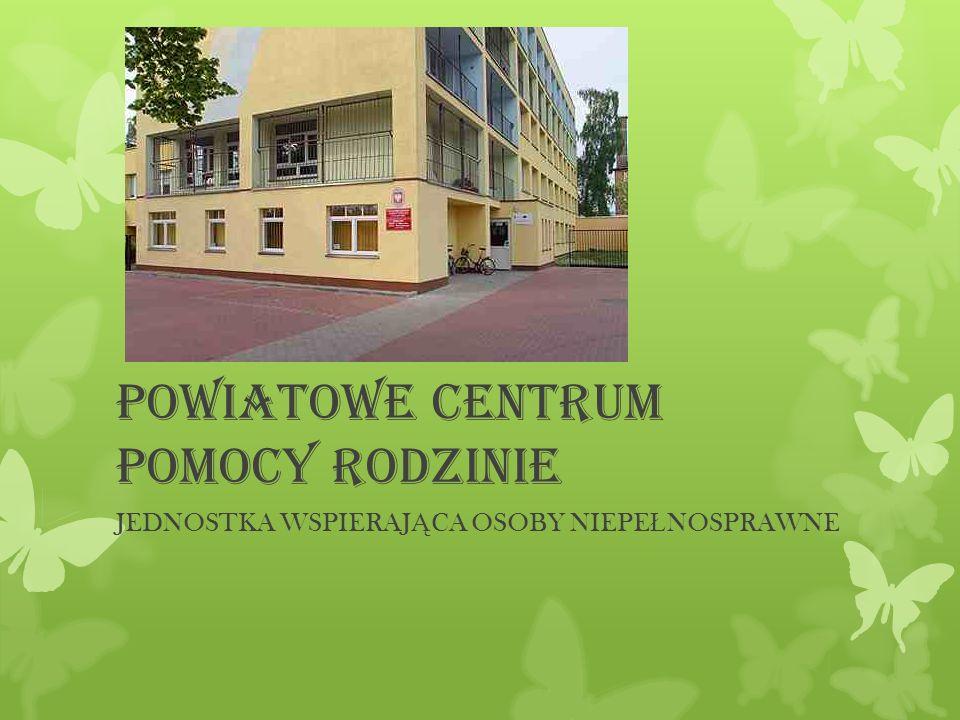 Powiatowe Centrum Pomocy Rodzinie Jest jednostką organizacyjną Powiatu Szczecineckiego realizującą zadania m.in.