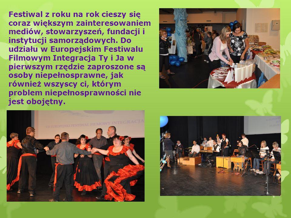 Festiwal z roku na rok cieszy się coraz większym zainteresowaniem mediów, stowarzyszeń, fundacji i instytucji samorządowych.