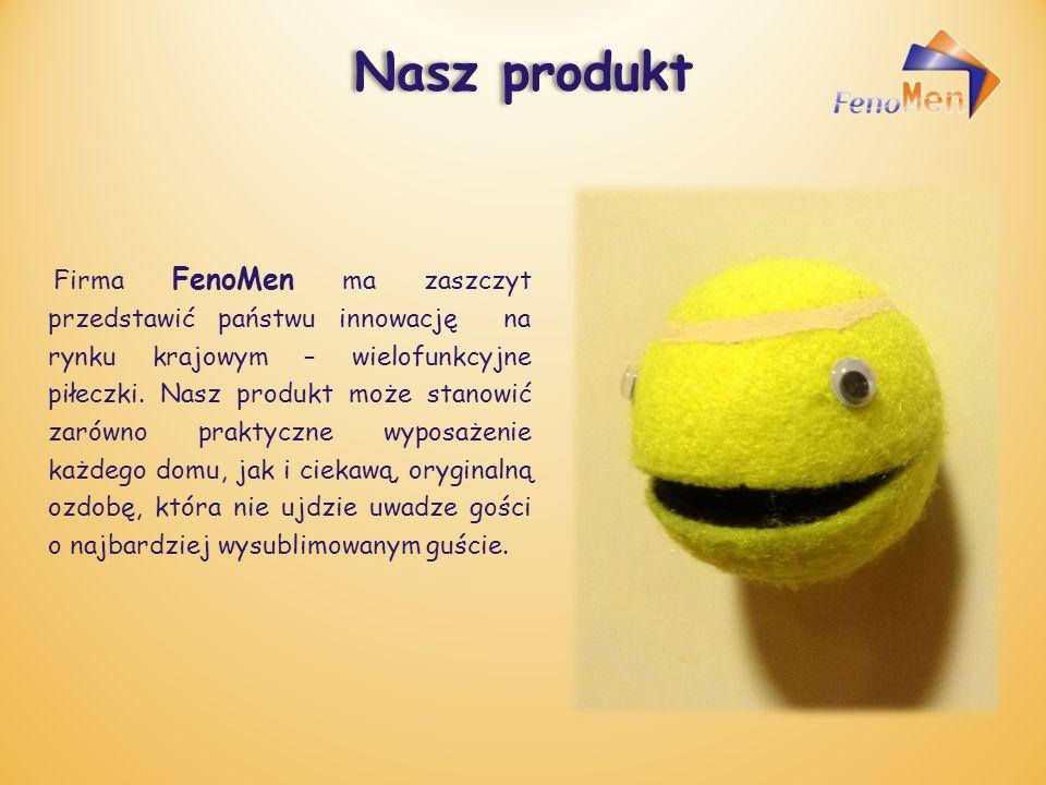 Nasz produkt Firma FenoMen ma zaszczyt przedstawić państwu innowację na rynku krajowym – wielofunkcyjne piłeczki.
