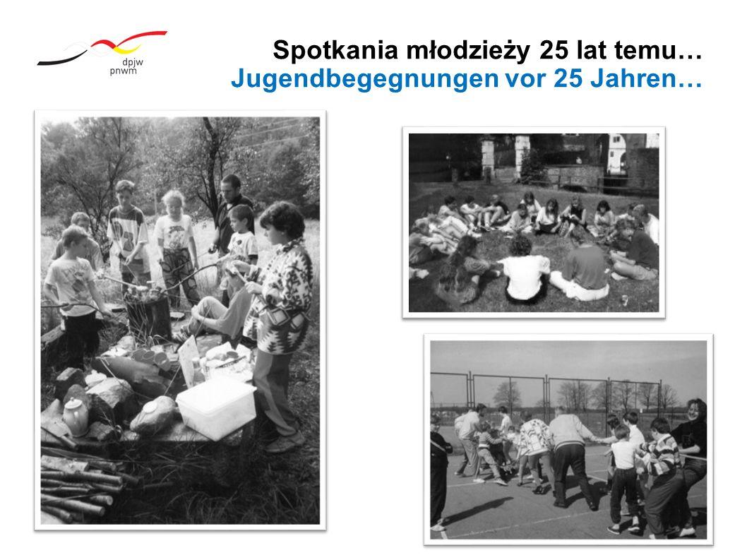 Spotkania młodzieży 25 lat temu… Jugendbegegnungen vor 25 Jahren…
