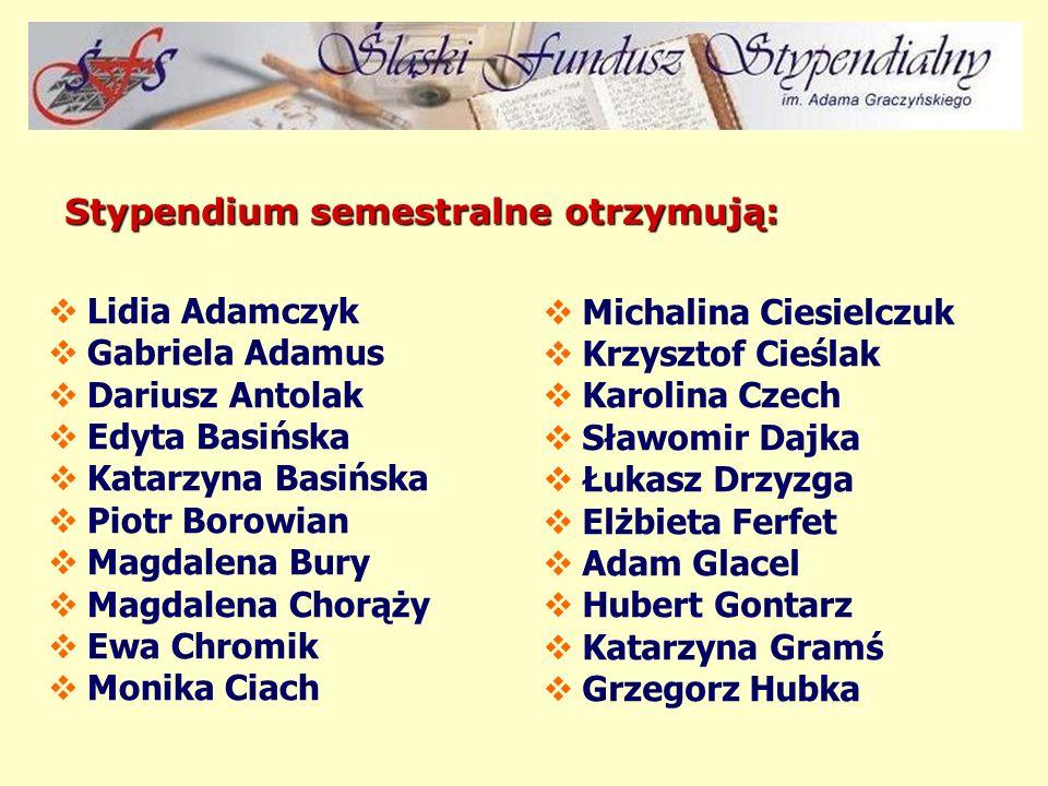 Zgodnie z obowiązującym Regulaminem ŚFS, o pomoc ze środków Fundacji mogą ubiegać się wszyscy studenci studiów wyższych – mieszkańcy województwa śląsk