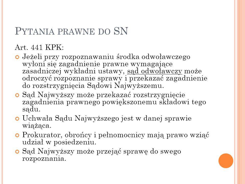 P YTANIA PRAWNE DO SN Art.