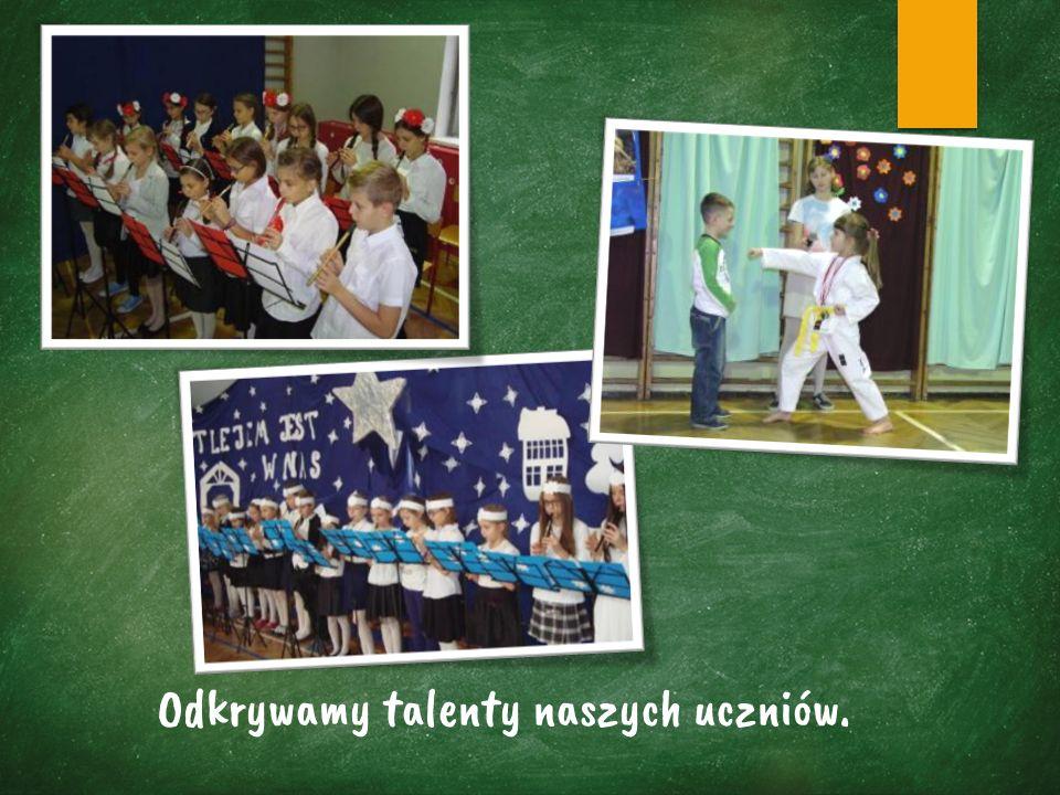Odkrywamy talenty naszych uczniów.
