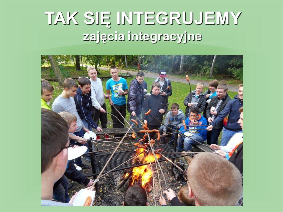 TAK SIĘ INTEGRUJEMY zajęcia integracyjne