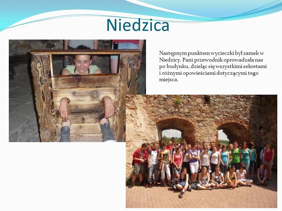 Niedzica Następnym punktem wycieczki był zamek w Niedzicy.